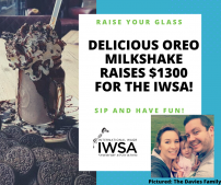 Delicious Oreo milkshake raises $1,300 for the IWSA